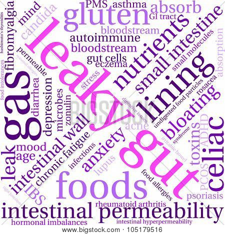 Leaky Gut Word Cloud