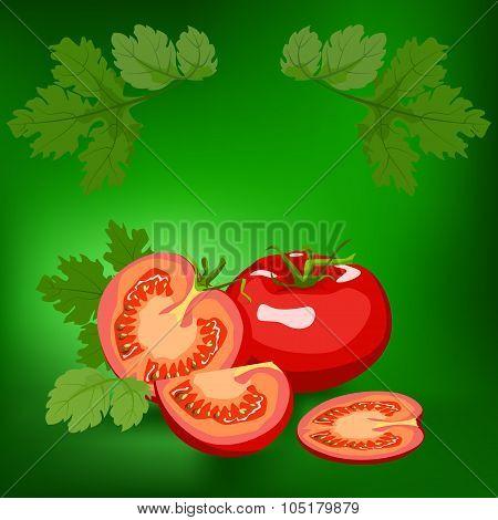 Tomato. Healthy lifestile