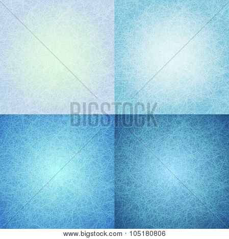 Abstract Blue Scratched Background