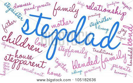 Stepdad Word Cloud