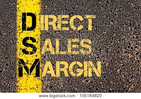 Business Acronym Dsm As Direct Sales Margin