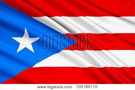 Flag Of Puerto Rico (united States) - San Juan
