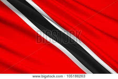 Flag Of Trinidad And Tobago, Port-of-spain