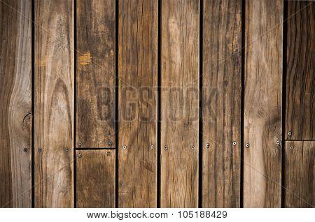 Dark Brown Wood Plank