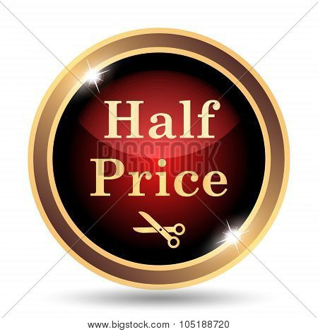 Half Price Icon