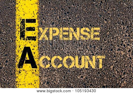 Business Acronym Ea As Expense Account