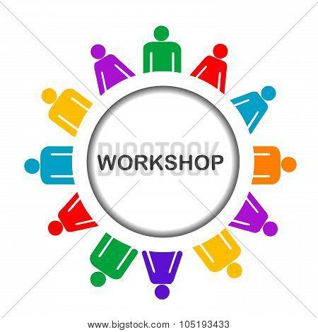 Illustration Of Workshop Icon