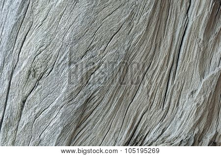 Old Dry Cracked Wood Background
