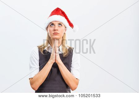 Praying for business succes in the New Year