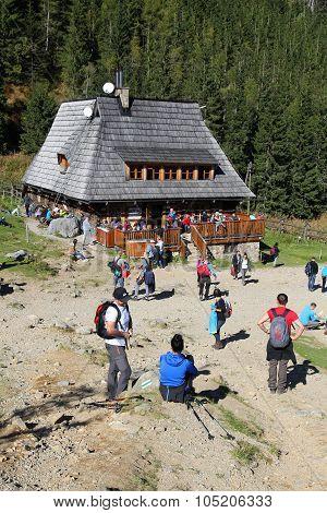 Mountain Hut In Poland