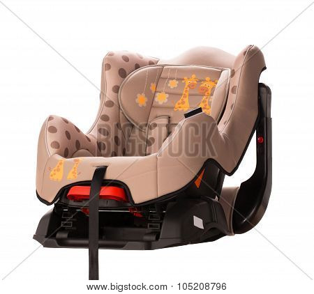 Booster seat for a car