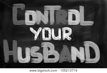 Control Your Husband Concept
