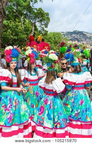 Flower Festival on the Madeira Island, Portugal.
