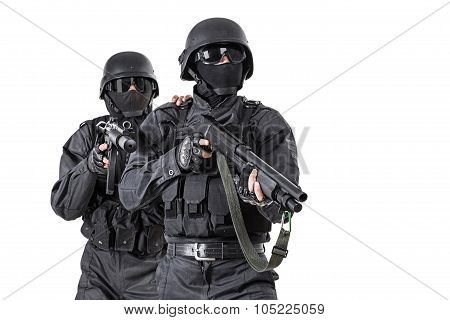 Spec ops officers SWAT