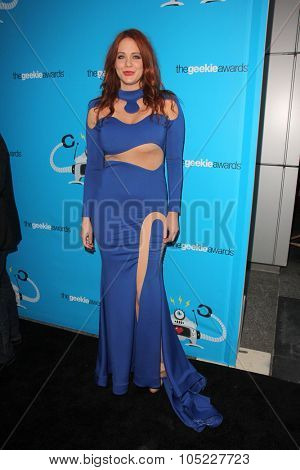 LOS ANGELES - OCT 15:  Maitland Ward at the 2015 Geekie Awards at the Club Nokia on October 15, 2015 in Los Angeles, CA
