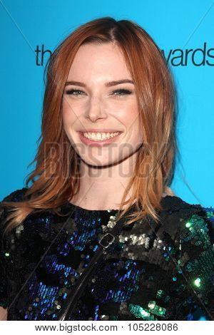 LOS ANGELES - OCT 15:  Chloe Dykstra at the 2015 Geekie Awards at the Club Nokia on October 15, 2015 in Los Angeles, CA
