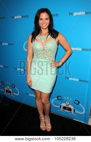 LOS ANGELES - OCT 15:  Katrina Law at the 2015 Geekie Awards at the Club Nokia on October 15, 2015 in Los Angeles, CA