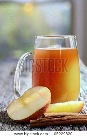 Glass of Apple Cider