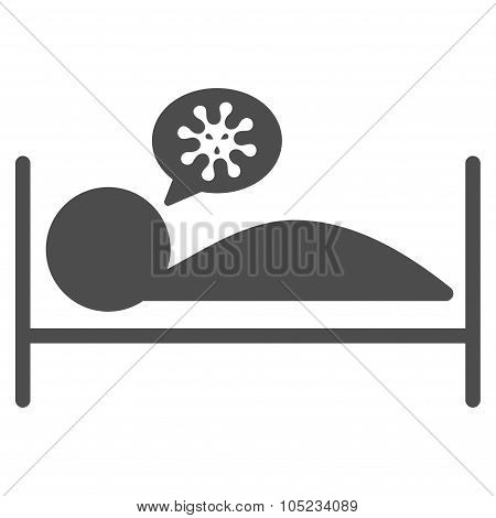 Patient Bed Icon