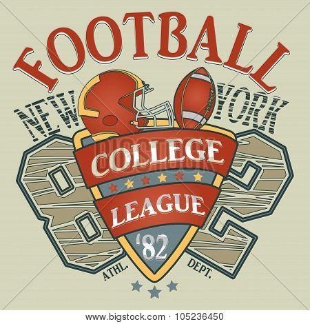 New York  t-shirt, Sport Typography