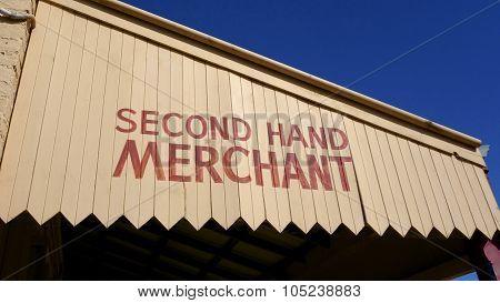Merchant Sign