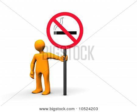Nenhuma área de fumadores