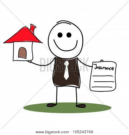 House insurance agent