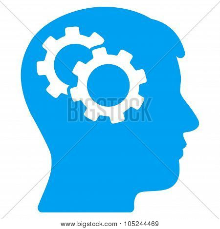 Intellect Flat Icon
