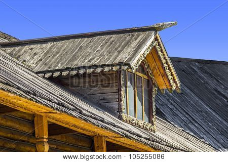 Skylights Wooden House