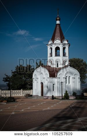 Church Chapel. Kazansky Cathedral In Stavropol