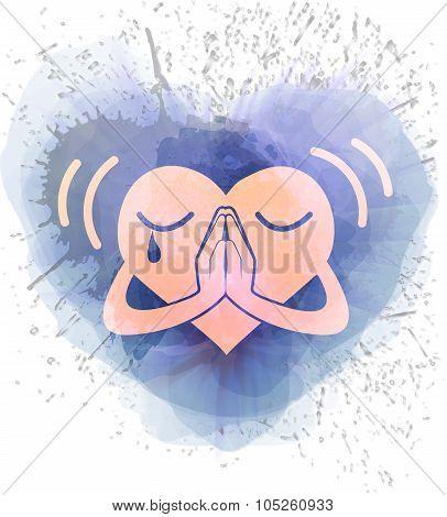 Icon Heart That Prays