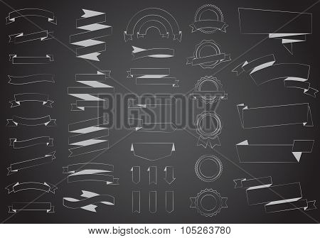 Labels Tag Sticker Banners Vector