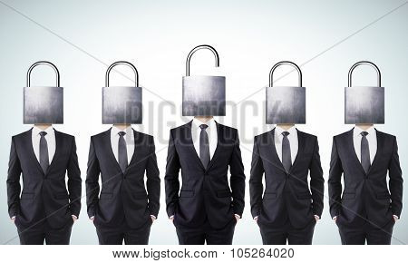 Open Your Mind Business Concept