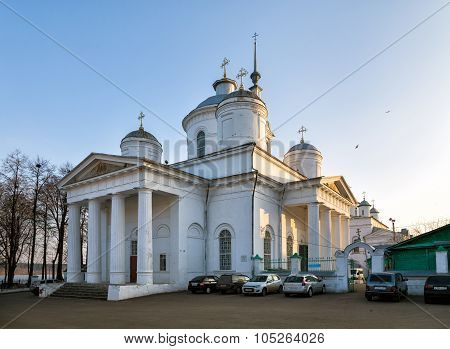 Trinity Cathedral In Kineshma, Russia