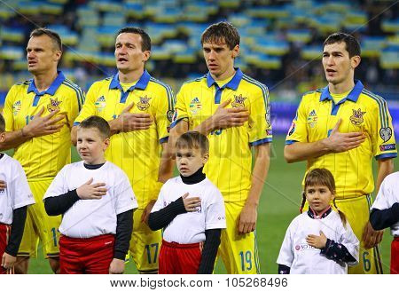 National Football Team Of Ukraine