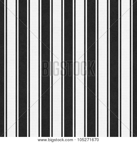 White And Black Striped Tile Pattern Repeat Background