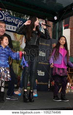 LOS ANGELES - OCT 17:  Sofia Carson at the Stars of