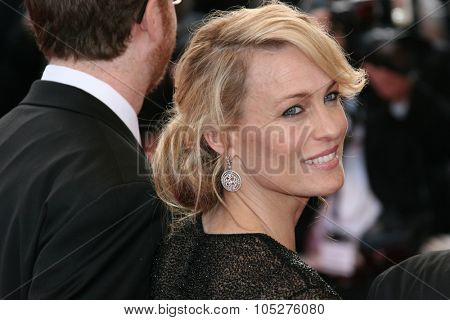 CANNES, FRANCE - MAY 24: Actress Robin Wright Penn attends the