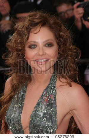 CANNES, FRANCE - MAY 14: Actress Ornella Muti arrives at the 'Blindness' premiere during the 61st Cannes International Film Festival on May 14, 2008 in Cannes, France.