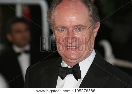 CANNES, FRANCE - MAY 18: Jim Broadbent attends the Indiana Jones Premiere at the Palais des Festivals during the 61st Cannes International Film Festival on May 18, 2008 in Cannes, France.