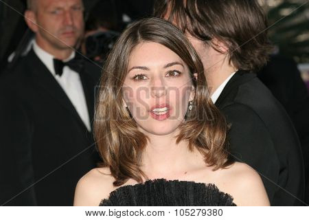 CANNES, FRANCE - MAY 24: US director Sofia Coppola   attends the 'Marie Antoinette' premiere at the Palais des Festivals during the 59th  Cannes Film Festival May 24, 2006 in Cannes, France