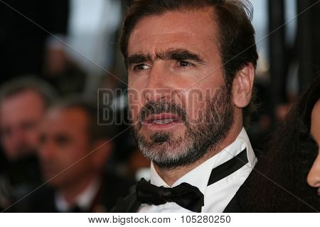 CANNES, FRANCE - MAY 18:The football player  Eric Cantona attends the Looking For Eric Premiere held at the Palais  Festivals during the 62nd  Cannes Film Festival on May 18, 2009 in Cannes, France.