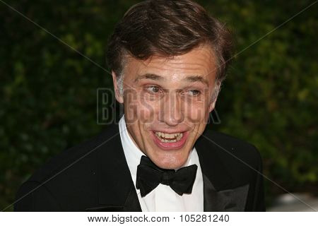 CANNES, FRANCE - MAY 24: Christoph Waltz attend the Palme d'Or Award Ceremony Photocall at the Palais des Festivals during the 62nd Annual Cannes Film Festival on May 24, 2009 in Cannes, France
