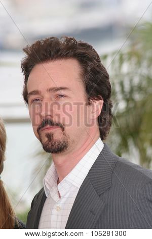 CANNES, FRANCE - MAY 14: Actor Edward Norton attends a photo call promoting the film 'Down in the Valley' at the Palais during the 58th Cannes Film Festival on May 14, 2005 in Cannes, France