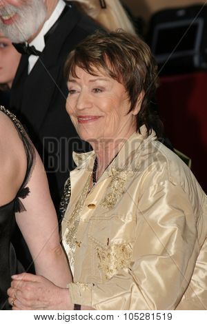CANNES, FRANCE - MAY : Annie Girardot   attends a screening of 'Cache' at the Grand Theatre during the 58th International Cannes Film Festival May 14, 2005 in Cannes, France