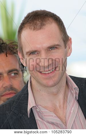 CANNES, FRANCE - MAY 21: Ralph Fiennes attends a photocall promoting the film 'Chromophobia' at the Palais during the 58th International Cannes Film Festival May 21, 2005 in Cannes, France