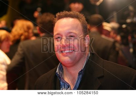 BERLIN - FEBRUARY 18: Actor Kevin James attends the 'Hitch' Premiere at the 55th annual Berlinale International Film Festival on February 18, 2005 in Berlin, Germany.