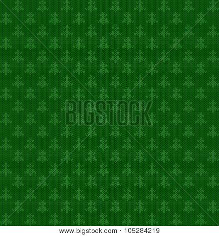 vector knitting seamless background: geometric pattern