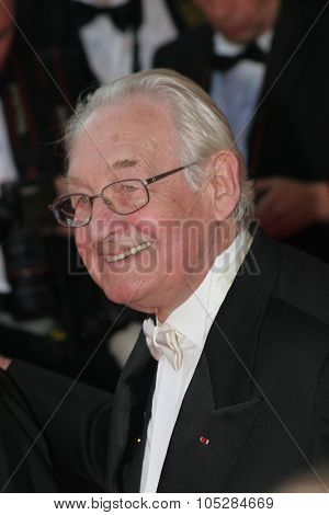 CANNES, FRANCE - MAY 20: Director Andrzej Wajda attends the Cannes Film Festival 60th Anniversary event during the 60th International Cannes Film Festival on May 20, 2007 in Cannes, France