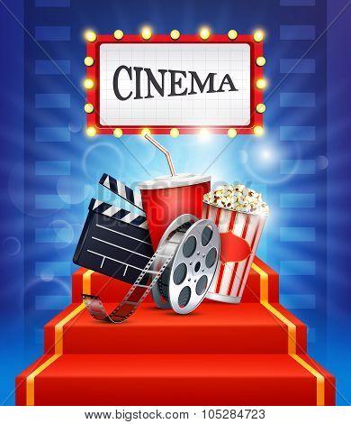 Cinema background.